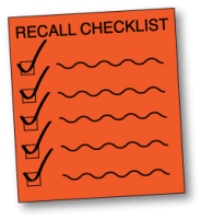 product recall checklist